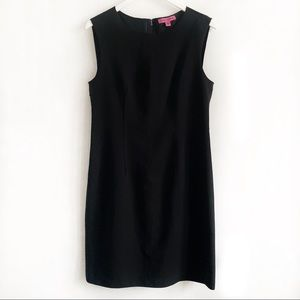 Betsey Johnson Sleeveless Sheath Black Dress